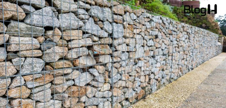 como os gabiões são utilizados na construção civil