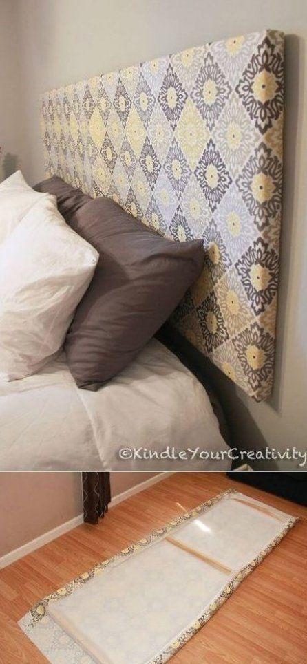 Cabeceira de cama caseira