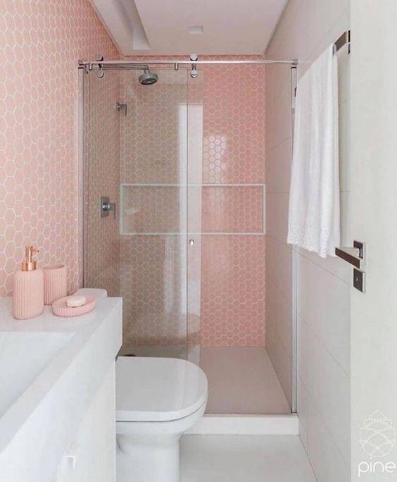 decoração retrô banheiro
