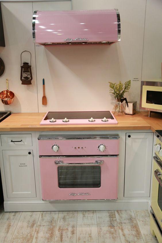 decoração retrô para cozinha