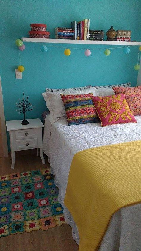 decoração retrô quarto