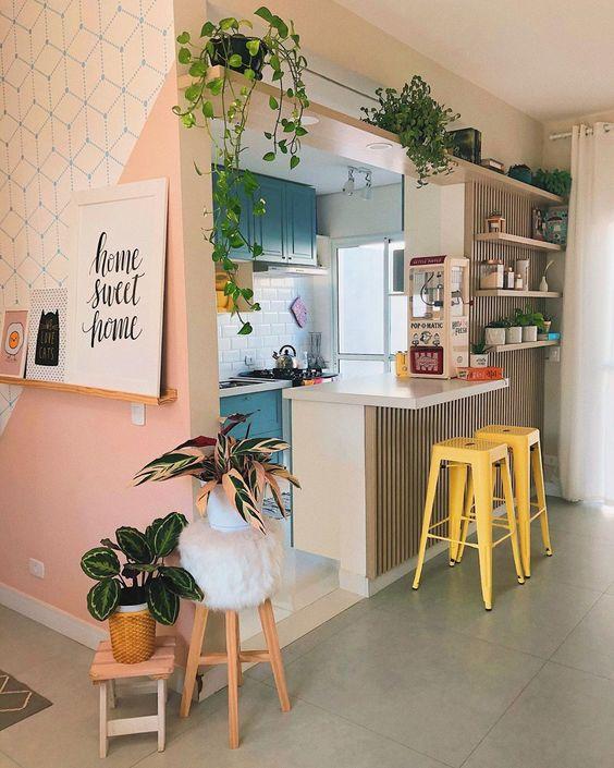 decoração tumblr cozinha
