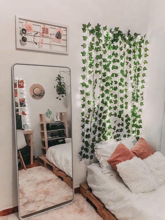 decoração tumblr quarto