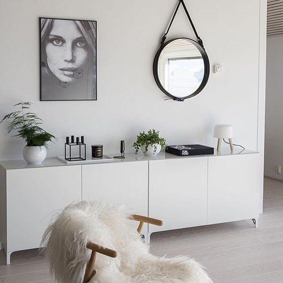 decoração com espelhos adnet