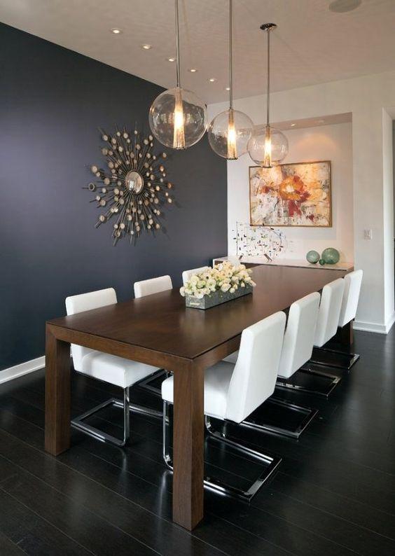 decoração para sala de jantar