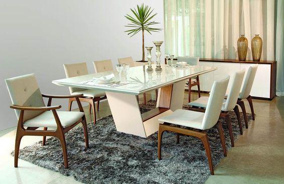 modelos de mesa de jantar