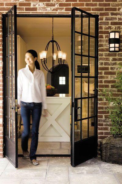 portas de vidro francesa