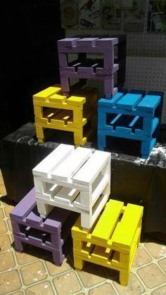 como fazer móveis com pallet