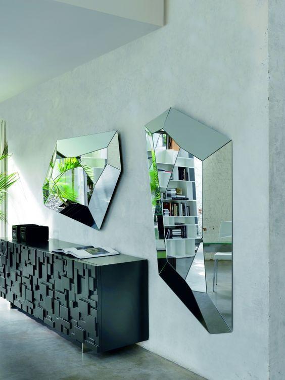 decoração com espelhos decorativos