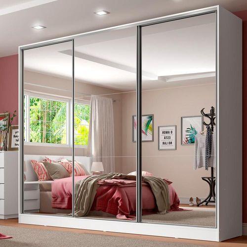 decoração com espelhos nas portas