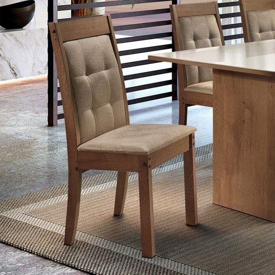 cadeiras estofadas cozinha