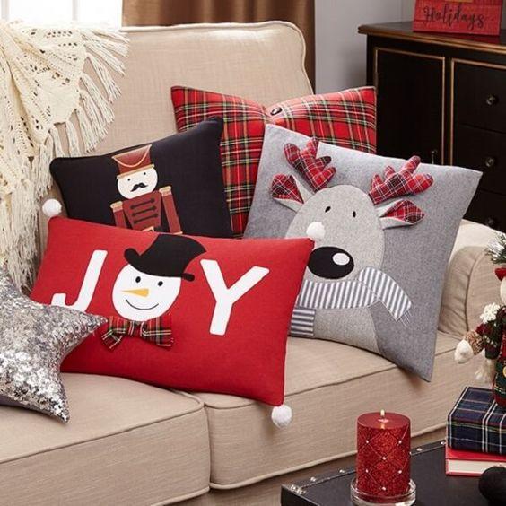 decoração de natal almofada