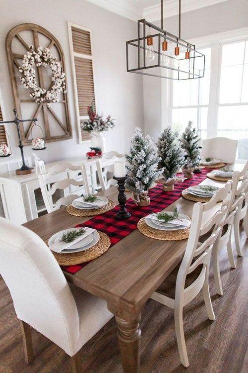 decoração de natal para mesa