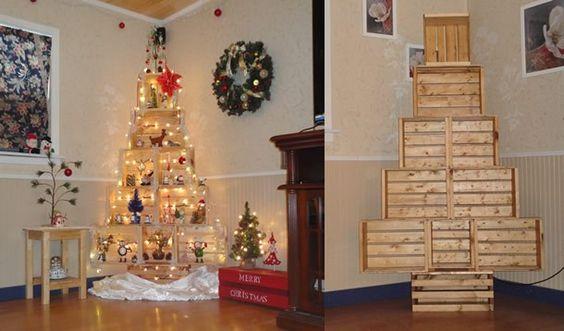 decoração de natal reciclável