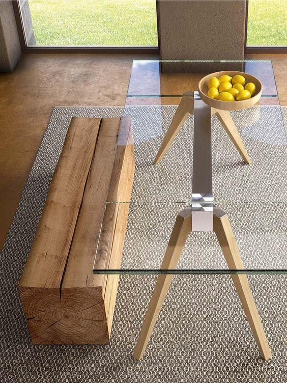 Base para mesa de vidro