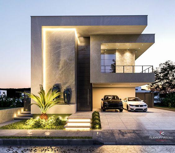 Fachadas de casa 2021