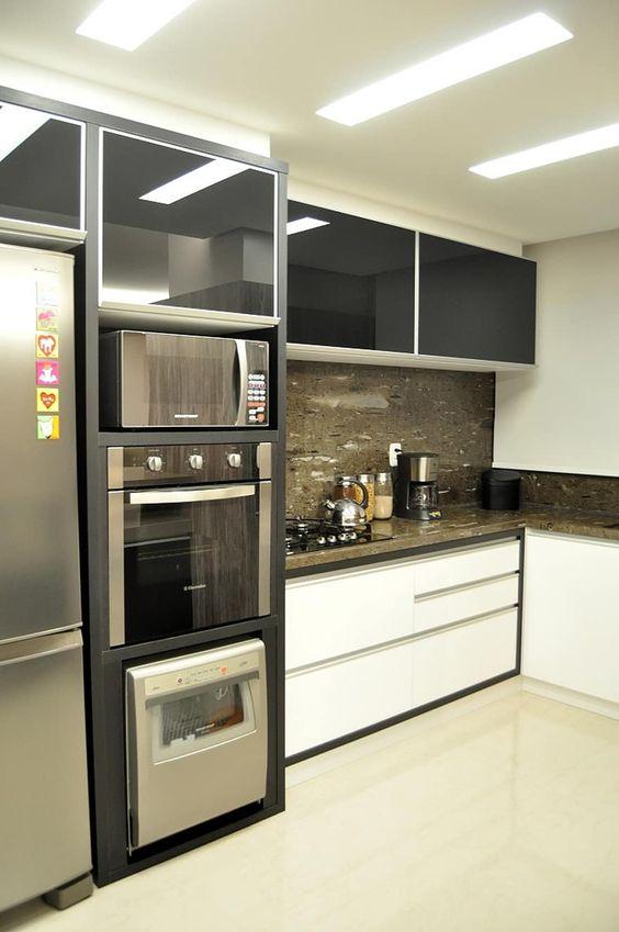 torre quente para cozinha