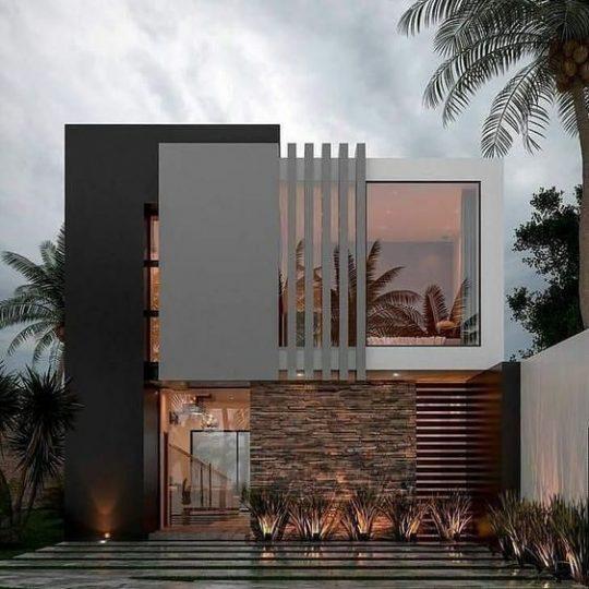 Revestimento para fachada de casas