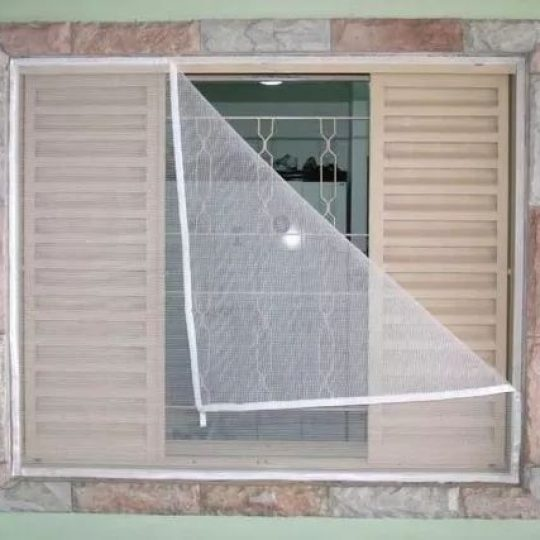 como fazer tela para janela