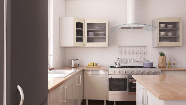 lista de material de construção para cozinha