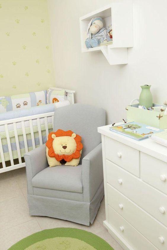 Como decorar um quarto simples de bebê menino