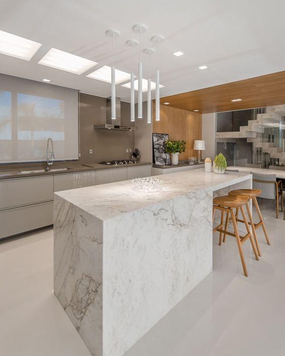 Projetos de Cozinhas Modernas 3d