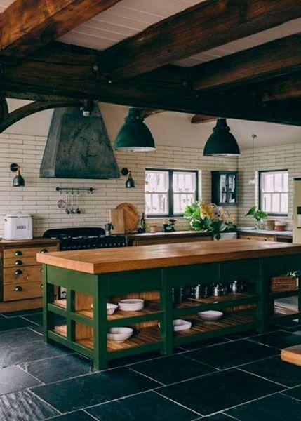 projetos de cozinhas modernas rústica