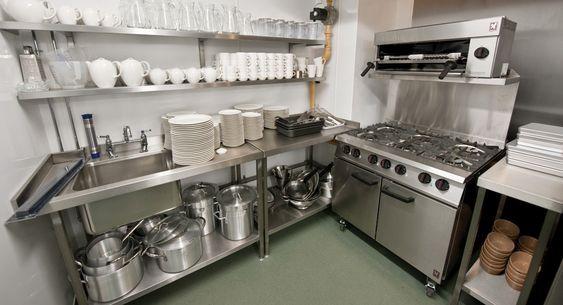 projetos de cozinhas modernas para restaurantes